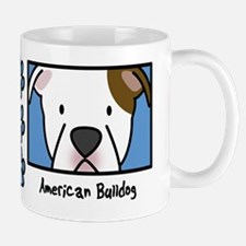 Anime American Bulldog Mug