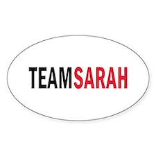 Sarah Oval Decal