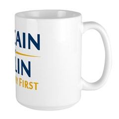 Country First - McCain Palin Mug