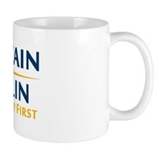Country First - McCain Palin Mug
