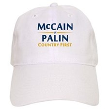 Country First - McCain Palin Baseball Cap