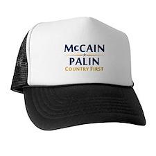 Country First - McCain Palin Trucker Hat