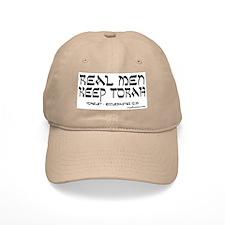 Real Men Keep Torah Khaki Baseball Cap