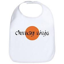 clumsy ninja Bib