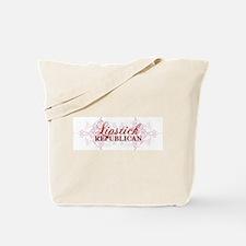 Unique Lipstick republican Tote Bag