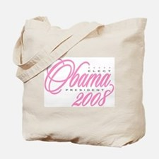 Unique Obama girl Tote Bag