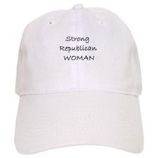 Strong Republican Woman Cap