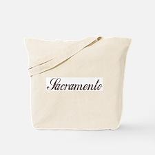 Vintage Sacramento Tote Bag