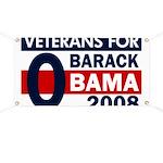 Veterans for Barack Obama Banner