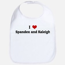 I Love Spandex and Kaleigh Bib