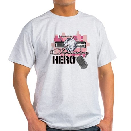 I Married My Hero Light T-Shirt
