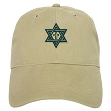 Star Of David & Cross Baseball Cap