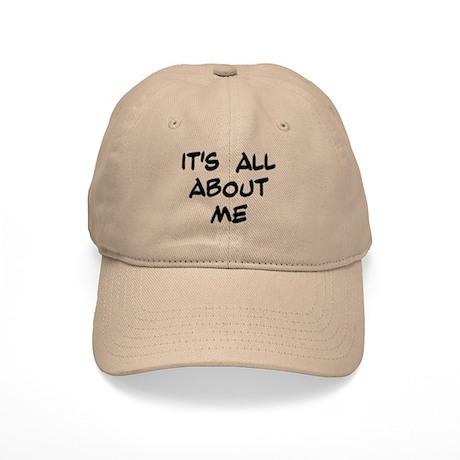 "Black ""It's All About Me"" Cap"