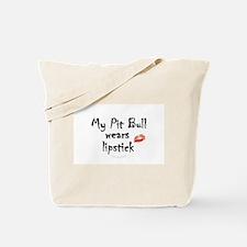 Cool Pit bull political Tote Bag