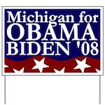 Michigan for Obama-Biden Yard Sign
