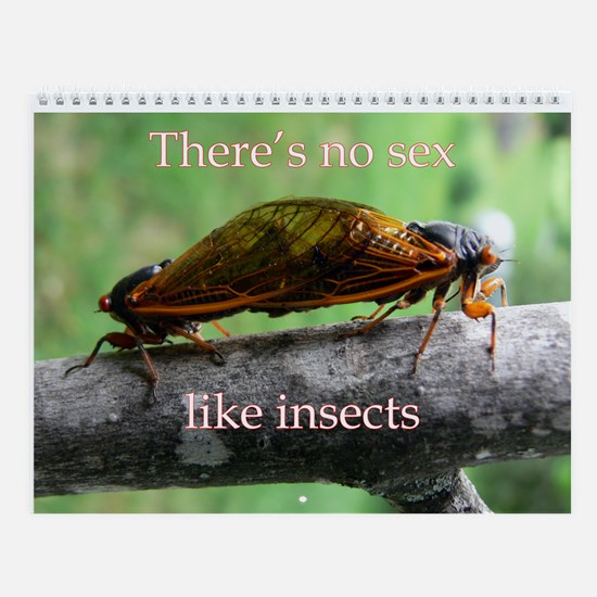 Insect Sex Wall Calendar