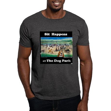 A Day at the Dog Park Dark T-Shirt