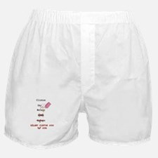 Indecision or Decision? Boxer Shorts