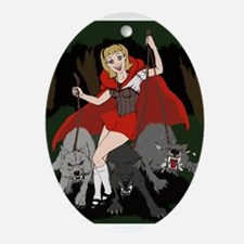 "Moonlight Fantasies ""Red Riding Hood"" Keepsake"