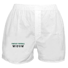 Fantasy Football Widow Boxer Shorts