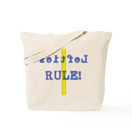 Lefties Rule Tote Bag