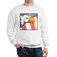 Patriotic Eagle Sweatshirt