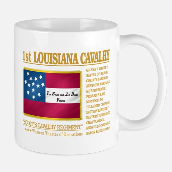 1st Louisiana Cavalry Mugs