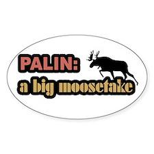 Palin's Moosetake Oval Decal