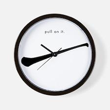 Hurling: pull on it Wall Clock