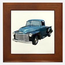 1953 Pickup Truck Framed Tile