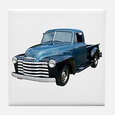 1953 Pickup Truck Tile Coaster