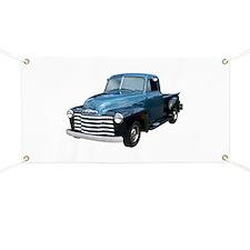 1953 Pickup Truck Banner