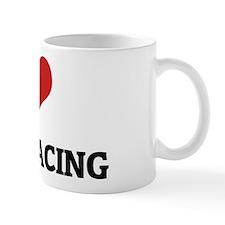 I Love Camel Racing Mug