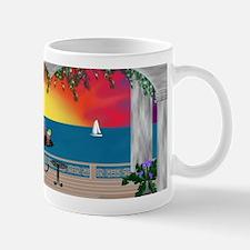 Seaside at Sunset Mug