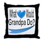 Would Grandpa Do Throw Pillow