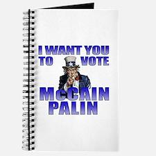 McCain Palin Uncle Sam Journal