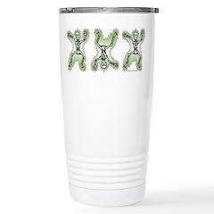 Triple Skeleton Travel Mug