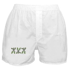 Triple Skeleton Boxer Shorts