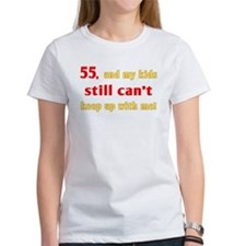 Witty 55th Birthday Tee