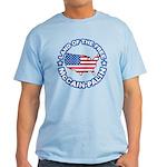 McCain Palin Land of the Free Light T-Shirt
