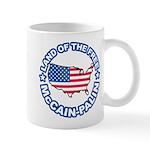 McCain Palin Land of the Free Mug