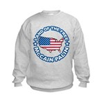 McCain Palin Land of the Free Kids Sweatshirt