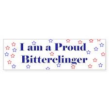Proud Bitterclinger Bumper Bumper Sticker