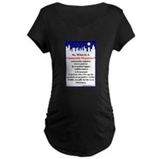 """Community Organizer?"" T-Shirt"