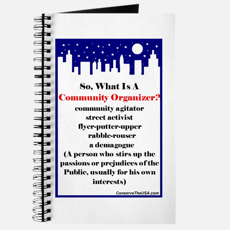 """Community Organizer?"" Journal"
