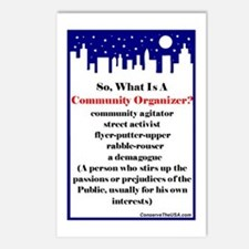 """Community Organizer?"" Postcards (Package of 8)"