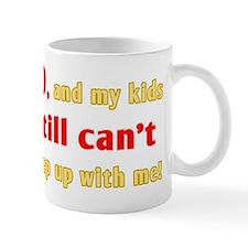Witty 80th Birthday Mug
