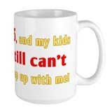 85th birthday Large Mugs (15 oz)