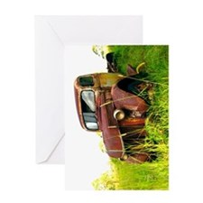 Greeting Card - Grass Roots Rustbucket