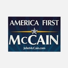 America First McCain Rectangle Magnet